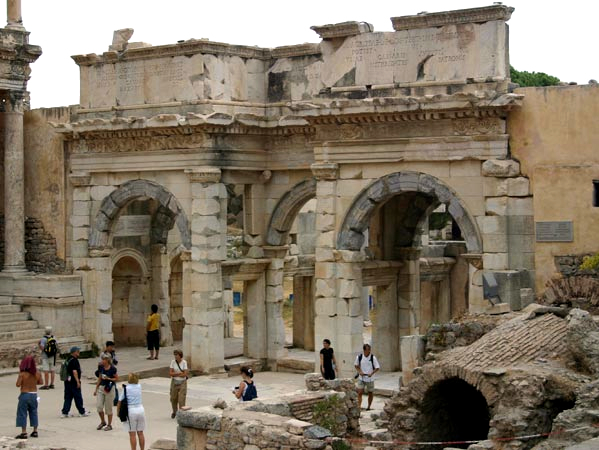 The Ancient City, the gate of Ephesus